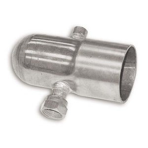 Uponor North America Copper Vent Drain Thread End Cap UA2402000
