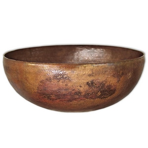 Native Trails Kitchen & Bath Maestro Round Vessel Round Copper Lavatory Sink NCPS363