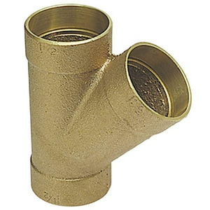 Nibco 1-1/4 in. Copper Cast Bronze DWV Wye CCDWVYH