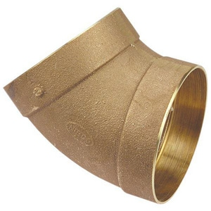 Nibco 4 in. Copper 45 Degree Elbow CCDWV4P