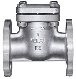 Velan Valve 150# Carbon Steel Flanged Swing Check Valve VF0114C02TY