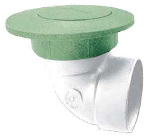 NDS Pop-Up Drainage Emitter with Elbow in Green N321