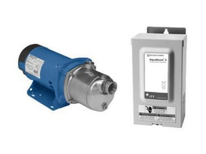 Goulds Pumps AquaBoost 37 gpm Stainless Steel Booster Pump System G2AB22HM1F2E0