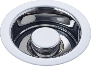 Brizo Disposal and Flange Stopper in Polished Chrome D72030