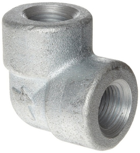 3000# Threaded Carbon Steel Forged 90 Degree Elbow GFST9