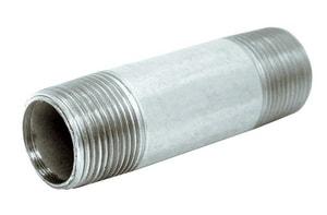 1 in. NPS Extra Heavy Galvanized Steel Nipple GXNG