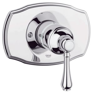 Grohe Geneva™ Pressure Balancing Valve Trim with Single Lever Handle G19722