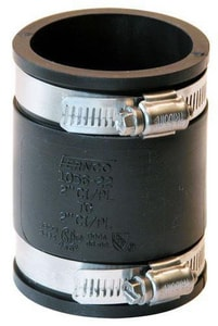 Fernco Cast Iron or Plastic Flexible Coupling F1056SR