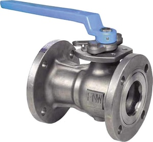 FNW 1-Piece Stainless Steel Flanged Standard Port Ball Valve with Lever Handle FNW500A