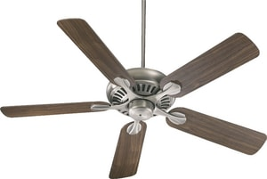 Quorum International Pinnacle 83W 5-Blade Ceiling Fan with 52 in. Blade Span Q91525