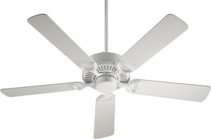 Quorum International Estate 66W 5-Blade Ceiling Fan with 52 in. Blade Span and Light Kit Q43525