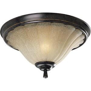 Progress Lighting Le Jardin 60 W 2-Light Medium Flush Mount Close-to-Ceiling Fixture Light PP3598