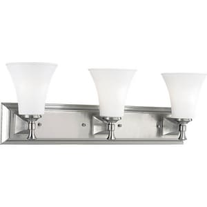 Progress Lighting Fairfield 100W 3-Light Medium Base Flush PP3133