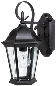 Capital Lighting Fixture Carriage House 100W 1-Light Medium E-26 Base Wall Lantern C9726