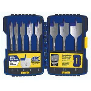Irwin Industrial Tool Speedbor® 8-Piece Drill Bit Set I341008
