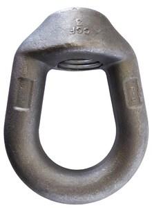 Anvil Round Head Thread Weldless Eye Nut Black G290R