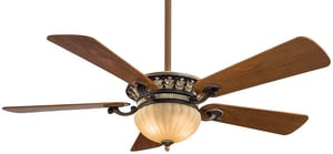 Minka Volterra™ 52 x 15-1/2 in. 5-Blade Ceiling Fan MF702B