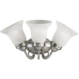Progress Lighting Bedford 16-1/4 in. 100W 3-Light Bath Light PP3369