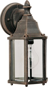 Maxim Lighting International Builder Cast 10 in. 60W Wall Mount Medium Lantern M1026