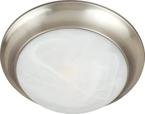 Maxim Lighting International 60W 3-Light Incandescent Ceiling Light Fixture with Marble Glass M5852MR