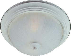 Maxim Lighting International 11-1/2 in. 1-Light Flushmount with Frosted Glass Shade M5830FT