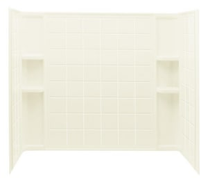 Sterling Ensemble™ 60 x 33-1/4 in. Tub and Shower in Biscuit S7112410096