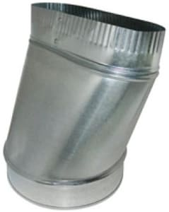 Northwest Metal Products 6 in. Round-To-Oval Straight Boot N138026