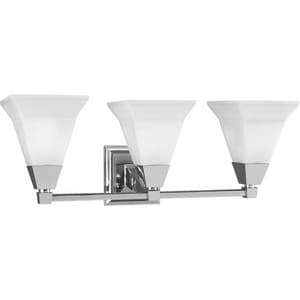 Progress Lighting Glenmont 23 in. 100W 3-Light Vanity Fixture PP3137