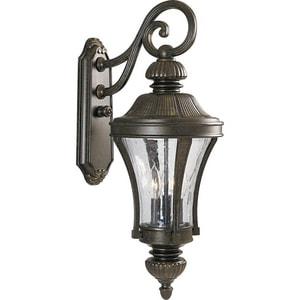 Progress Lighting Nottington 13 in. 60W 3-Light Candelabra Lantern PP5837