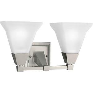 Progress Lighting Glenmont 7-3/4 in. 100W 2-Light Medium Bracket PP3136