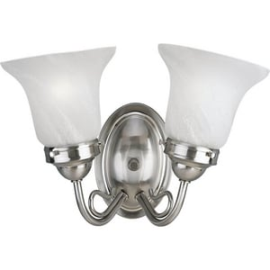 Progress Lighting Bedford 14-1/2 in. 100W 2-Light Bath Light PP3368