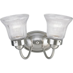 Progress Lighting 100W 2-Light Medium Base Bath Bracket PP3288