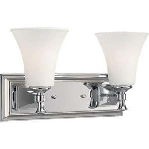 Progress Lighting Fairfield 15-3/8 in. 100W 2-Light Vanity Fixture PP3132