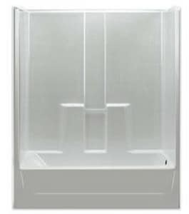 Hamilton Bathware 60 x 31-1/4in. Tub and Shower HGE6030TSWH