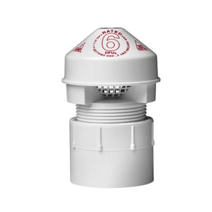 Oatey Sure-Vent® 1-1/2 in. Air Vent with Adapter Bulk O39005