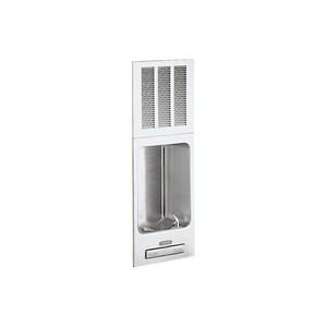 Elkay Legacy 325 W 6.9 gph Wall Mount Full Recessed ADA Water Cooler in Stainless Steel EEHFRAM7K