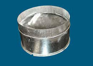 M & M Manufacturing Metal Spin-In Start Collar with Damper M504MSD