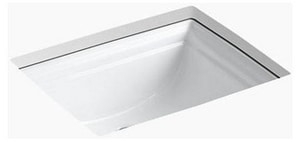 Kohler Memoirs No Hole Undermount Bathroom Sink K2339
