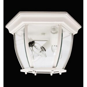 Capital Lighting Fixture 3-Light Outdoor Ceiling Fixture C9802