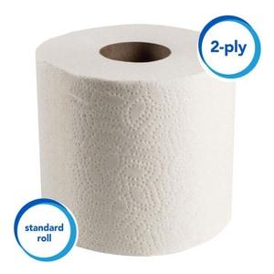 Scott® 4-1/10 in. 2-Ply Standard Roll Bath Tissue (Case of 80) K04460