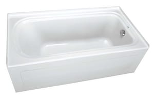PROFLO 60 x 36 in. Alcove Bathtub with Right-Hand Drain PFS6036RSK