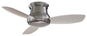 Minka Concept™ II 43.7W 3-Blade Ceiling Fan with Halogen Light MF518