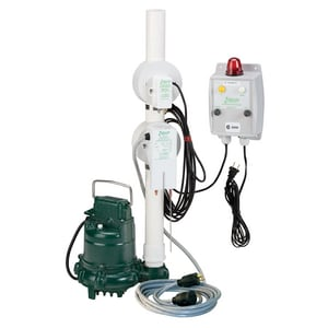Zoeller 3/10 hp 115V Effluent Pump with Switch Accessory Z9400005