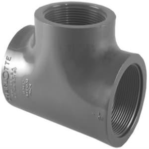Xirtec® 3/4 in. FPT Straight Schedule 80 PVC Tee P80TTF at Pollardwater