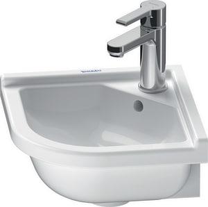 Duravit USA Starck 3 1-Hole Corner Lavatory Sink D0752440000