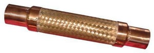 FNW Bronze Flexible Connector With Sweat 8 in. Length FNW35S