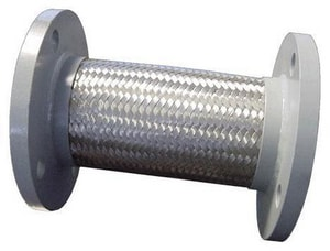 FNW Stainless Steel Flange Flexible Connector 9 in. Length FNW30F