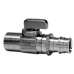 Uponor ProPEX® Brass PEX x Copper 250# Ball Valve UQ58075