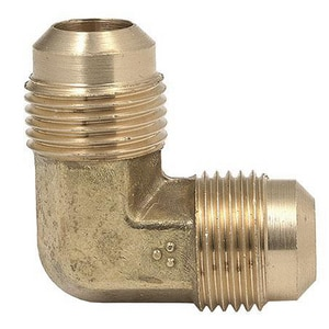90 Degree Brass Flare Elbow B155