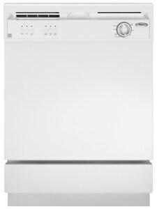 Whirlpool 23-7/8 in. 69dB 4-Cycle 3-Option Standard Tub Dishwasher WDU850SWP